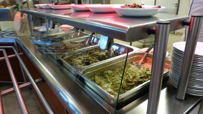 Les plats chauds du restaurant scolaire du collège Georges Brassens !